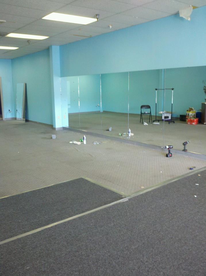 mirrors riversong dance studio